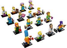 LEGO SERIE THE SIMPSONS 2 COLECCIÓN COMPLETA 16 MINIFIGURAS 71009 - NUEVO