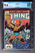 THING #1 Origin & History BEN GRIMM Fantastic Four JOHN BYRNE 1983 CGC NM+ 9.6
