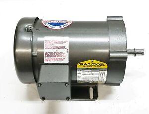 Baldor 1 HP 3450 RPM 3 Phase Industrial Motor CM3545 NOS
