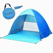 iCorer Automatic Pop Up Instant Portable Outdoors Quick Cabana Beach Tent Sun Sh