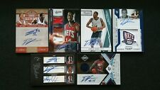 DERRICK FAVORS 2010-11 ROOKIE AUTO TRIPLE RC PATCH LOT (6) #/25 ELITE CONTENDERS