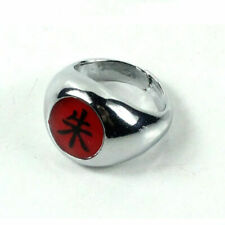 19cm Cool Naruto Akatsuki Uchiha Itachi Zhu Ring Metal Alloy Cosplay-Gift L