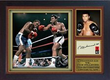 Boxer Muhammad Ali signed autograph WORLD CHAMPION Boxing Memorabilia Framed #05