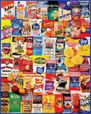 Potato Chips 1000 Piece Collage Jigsaw --White Mountain Puzzles