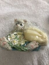 Enesco Calico Kittens Figurine Planting the Seeds of Friendship #623547 1993