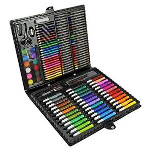 150pc Art Set Childrens Kids Colouring Drawing Painting Arts & Crafts Case