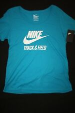 NIKE Women's Scoop Neck Track & Field Tee Shirt NWT Size: XL FREE SHIPPING!!