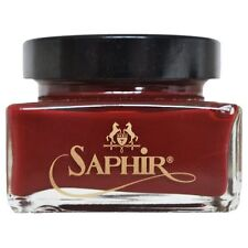 Saphir Médaille d'Or: Pommadier Cream Black, 75ml jar, Pommadier cream shoe poli