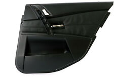 BMW 5 Series E60 E61 Door Card Lining Leather Trim Panel Rear Right O/S Black