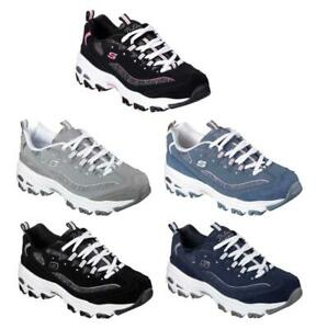 SKECHERS Women's D'Lites Sneakers in 5 Colors, Medium and Wide Widths