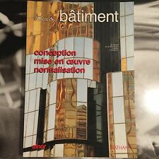 PRECIS DE BATIMENT - CONCEPTION MISE EN OEUVRE NORMALISATION - D.DIDIER P. NATAF