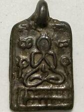 PHRA LP PAN RARE OLD THAI BUDDHA AMULET PENDANT MAGIC ANCIENT IDOL#32