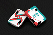 1 DECK Neon Line for cardistry playing cards FREE USA SHIPPING