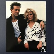 KIM BASINGER HAND SIGNED 8x10 PHOTO SEXY ACTRESS BATMAN MOVIE AUTOGRAPHED RARE