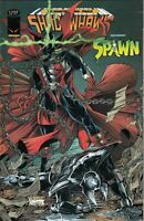Shadowhawk #17 Featuring Spawn Image Comic 1st Print 1995 NM