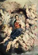 A4 Foto Rubens Peter Paul la Virgen y los Santos Inocentes Rubens 1908 impresión Pos