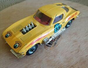 CORGI TOYS 377 - CHEVROLET CORVETTE STING RAY - Stock Car No.13