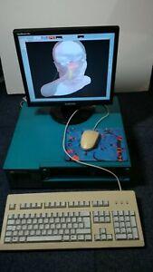SGI Silicon Graphics Indigo 2 R4000 160Mb Elan Graphics + Monitor etc. - all in!