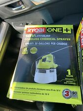 Ryobi One+ 18 Volt LithiumIon Cordless Chemical Disinfectant Sprayer SHIP TODAY
