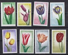 Albania 1971 Tulipani 1472-79  Mnh