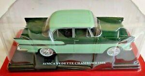 Simca Chambord Auto Vintage by Hachette Collections, 1/24, neuve + livret