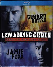 Law Abiding Citizen Blu-ray Steelbook First Issue Factory Sealed Shipped in Box