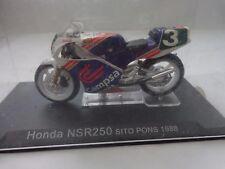 1/24 DEAGOSTINI IXO - CHAMPION RACING BIKES - HONDA NSR250 SITO PONS 1988