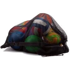 Large Sports Ball Mesh Drawstring Bag For Basketball Soccer Volleyball Football