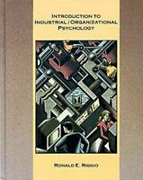 Introduction to Industrial-Organizational Psychology Paperback Ronald E. Riggio