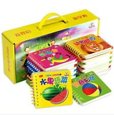 24 books/set Kids Early Learning Cards Toddlers chinese pinyin booklet Tear off