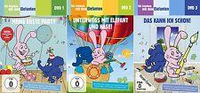 3 DVDs * DIE SENDUNG MIT DEM ELEFANTEN  1 - 3 IM SET # NEU OVP §