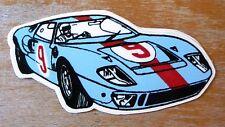 Ford Gt40 Gulf Racing / Motorsport Sticker Decal