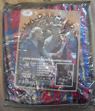 """Wool & Acrylic Cannon Loom Woven Sports Blanket/Throw 50""""by60""""New In Package"""