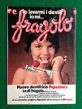 PX24 Pubblicità Advertising Werbung Clipping 23x16 cm - DENTIFRICIO PAPERINO'S