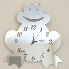 Frog Clock Acrylic Mirror - Several Sizes available