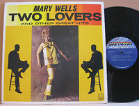 """""""TWO LOVERS"""" MARY WELLS 1970's USA MOTOWN EX LP M5-221V1 ~ Reissue of 1963 ALBUM"""
