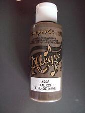 noce colore acrilico Allegro 59 ml stamperia decoupage