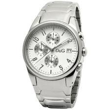 D&G Dolce & Gabbana SANDPIPER 3719770110 Herren Chronograph Edelstahl Datum NEU