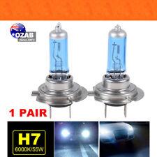1 Pair H7 55W 12V Xenon HOD White 6000k Halogen Head Light Globe Bulb Lamp