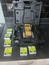 More details for dymo rhino 5200 label printer kit & lots of included tapes