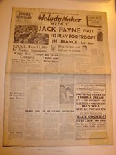 MELODY MAKER 1939 DECEMBER 16 JACK PAYNE BILLY COTTON JOE LOSS SWINGERS JAZZ