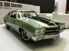 1970 CHEVROLET CHEVELLE SS 396 ACME GUYCAST 1:18 SEA MIST GREEN GMP DIECAST CAR