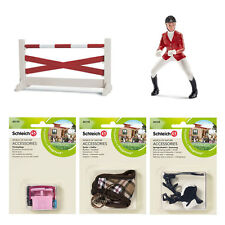 Schleich - Horse Show Jumping Equestrian Play Set (5 x toy figure models) NEW
