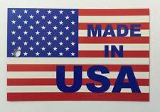 Made In Usa Hang Tags Printed 4 Color Process Both Sides 100 Per Bundle