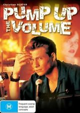 PUMP UP THE VOLUME - CHRISTIAN SLATER - NEW & SEALED R4 DVD- FREE LOCAL POST