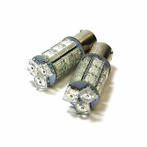 2x Daewoo Lacetti 18-LED Rear Indicator Repeater Turn Signal Light Lamp Bulbs