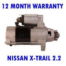NISSAN X-TRAIL 2.2 2001 2002 2003 2004 2005 2006 - 2015 RMFD STARTER MOTOR