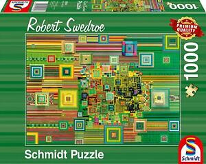 Schmidt Robert Swedroe Green Flashdrive Jigsaw Puzzle (1000 Pieces)