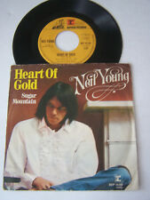 SP 2 TITRES , VINYLE 45 T , NEIL  YOUNG , HEART OF GOLD . VG - / VG