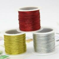20Meter Rope Gold/Silver/Red Cord Thread Cord String RopeLine AU Strap NW C8S6